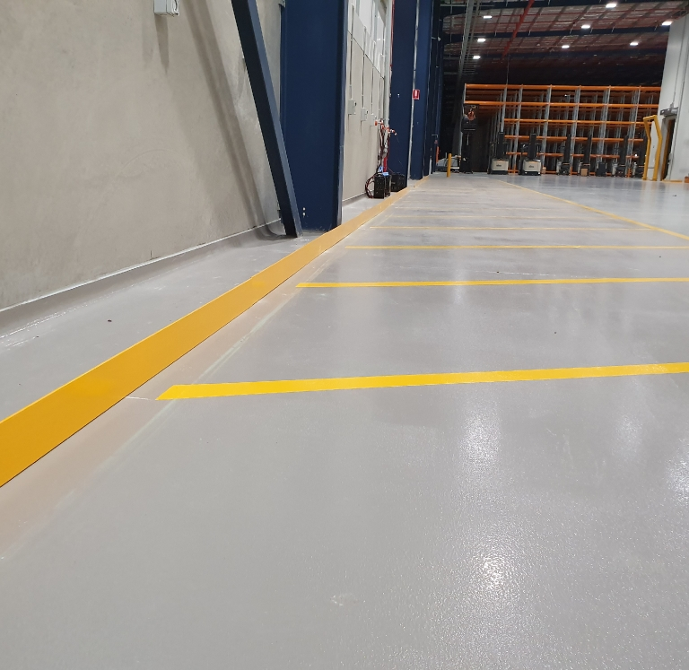 DHL Kemps Creek Forklift Parking Zone