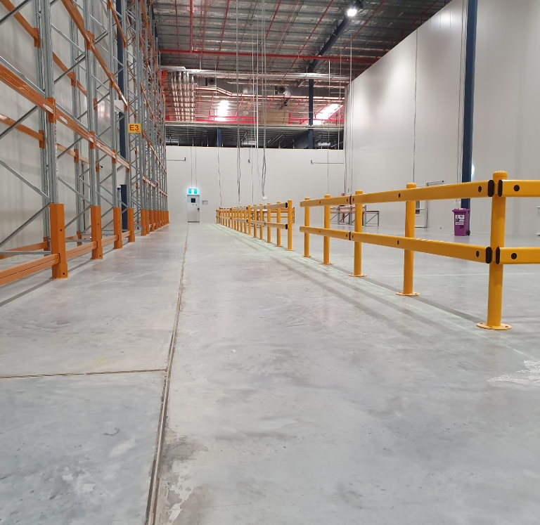 DHL Kemps Creek Pedestrian and Forklift Work Zone
