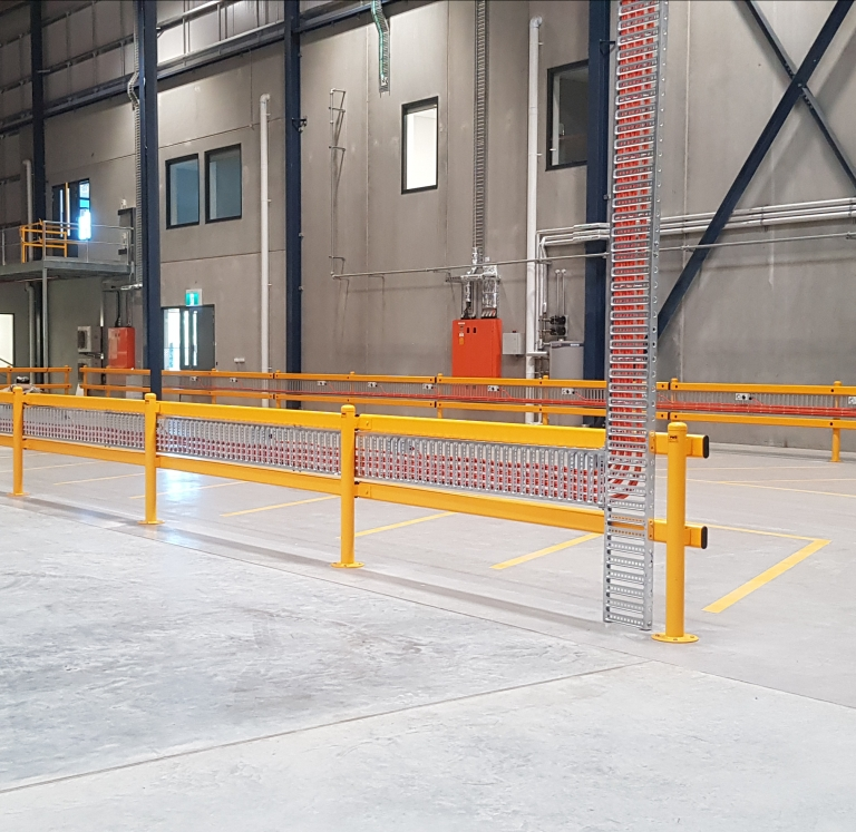 DHL Kemps Creek Forklift Charging Bays
