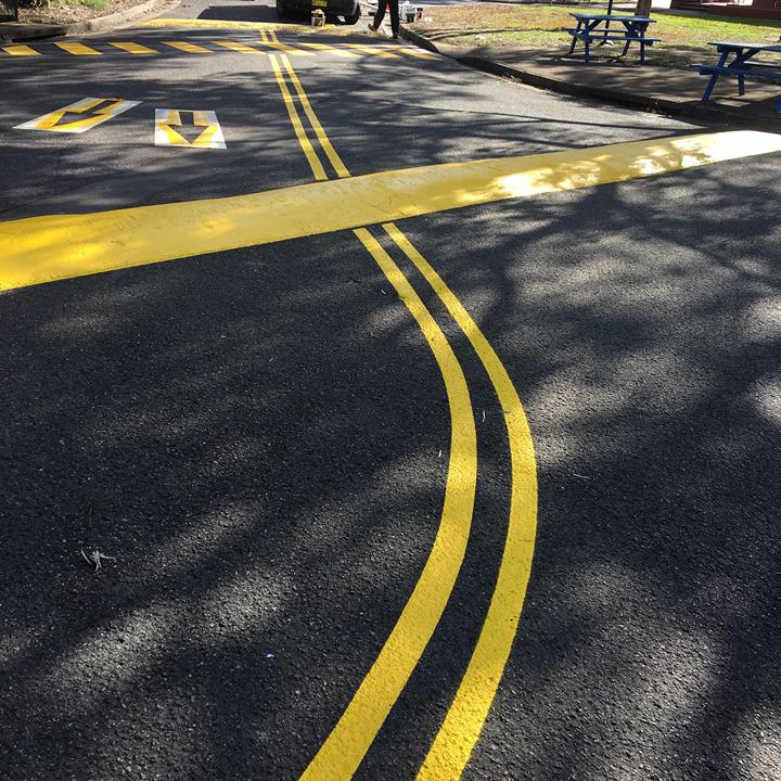 PWS Driveway Line Marking